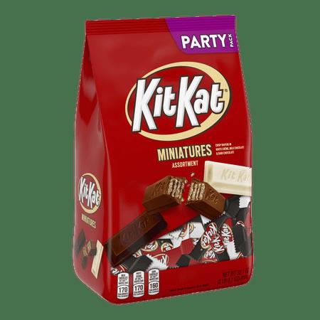 Kit Kat, Miniatures Assortment Party Bag, 32.1 Oz. Retro Kit Kat
