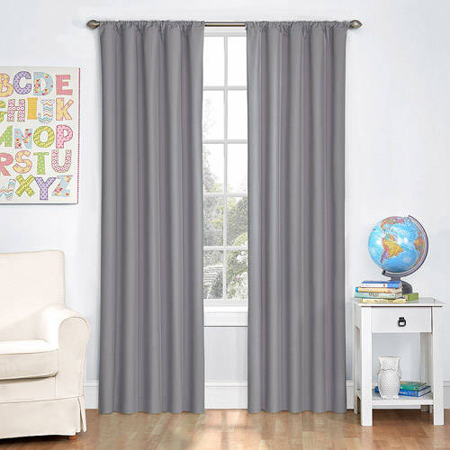 Eclipse Kids Blackout Microfiber Thermaback Curtain Panel by Ellery Homestyles
