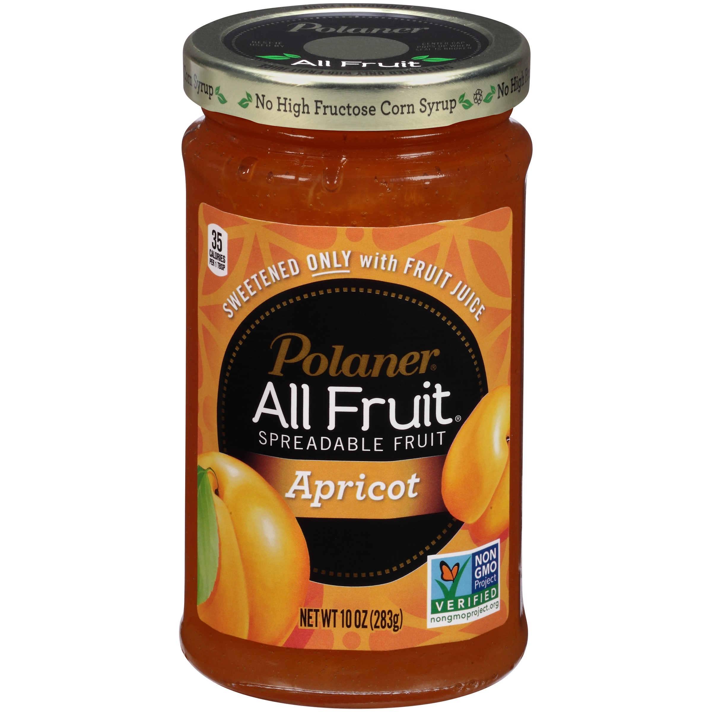 Polaner® All Fruit® Apricot Spreadable Fruit 10 oz. Jar