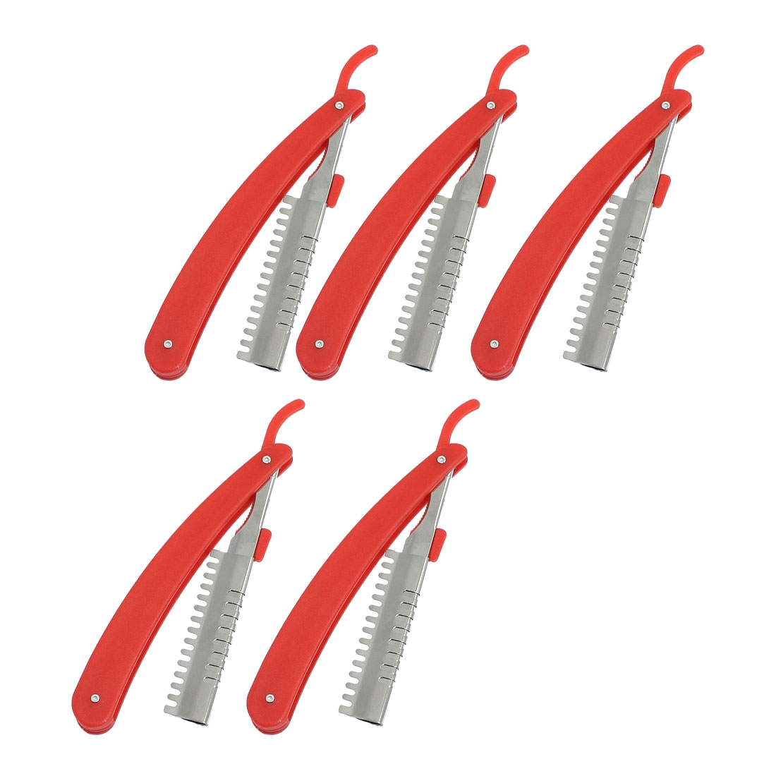 5 Pcs Hair Hairstyle Comb Razor Trimmer Cutter Holder