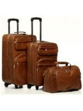 Amerileather 8003-2 Three Piece Set Traveler - Brown