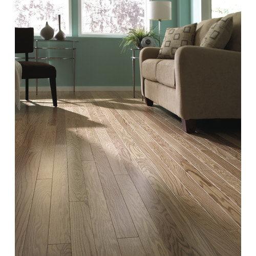 LM Flooring Kendall Random Width Engineered Red Oak Hardwood Flooring in Natural
