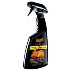 Meguiar's Gold Class Leather & Vinyl Cleaner – Leather Cleaner Refreshes & Restores – G18516, 16 (Quick 20 Leather & Vinyl Repair Kit Review)