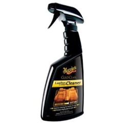 Meguiar's Gold Class Leather & Vinyl Cleaner – Leather Cleaner Refreshes & Restores – G18516, 16 oz
