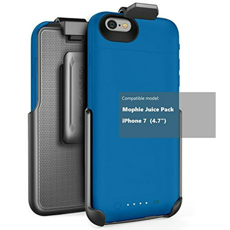 quality design b8aff aa15e Belt Clip Holster for Mophie Juice Pack Battery Case - iPhone 7 (4.7