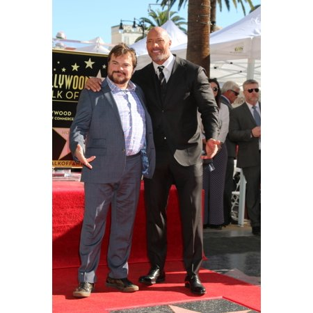 Jack Black Dwayne Johnson At The Induction Ceremony For Star On The Hollywood Walk Of Fame For Dwayne Johnson Aka The Rock Hollywood Boulevard Los Angeles Ca December 13 2017 Photo By Priscilla GrantE (Hollywood Stars Halloween 2017)