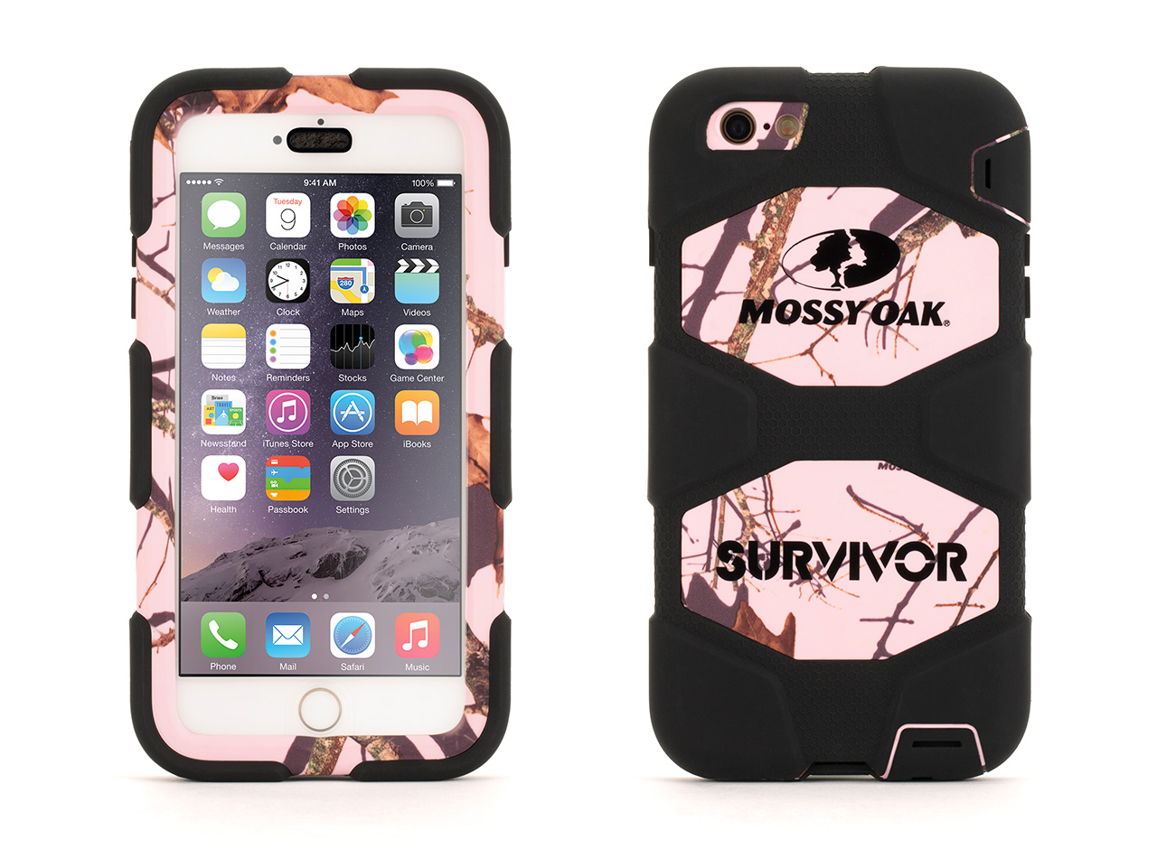 Griffin Survivor All-Terrain for iPhone 6 Plus, Mossy Oak, Mil-spec tested, real-world proven protection. In genuine... by Griffin Technology