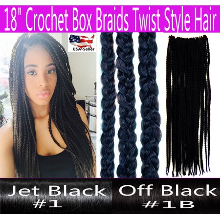 Crochet Hair Walmart : ... Crochet Braids Hair Box Braid Style Senegalese Extension Hair Color