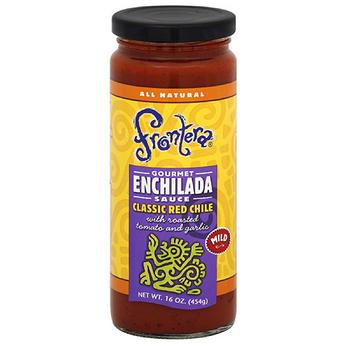 Frontera Classic Red Chile Mild Enchilada Sauce, 16 oz (Pack of 6)