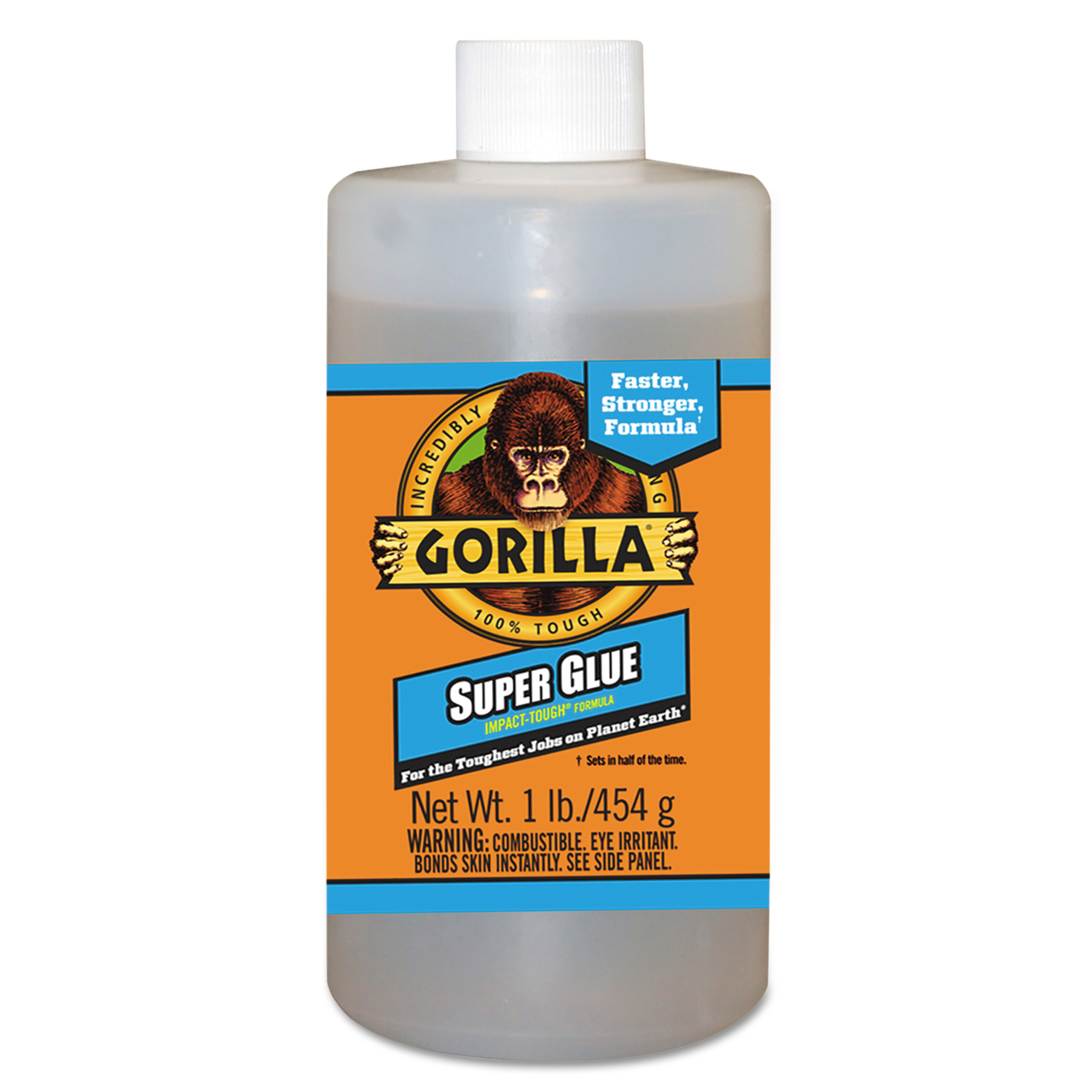 Gorilla Glue Instant Bond Superglue, 1 lb Bottle, Clear by GORILLA GLUE COMPANY