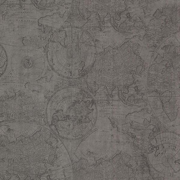 Cartography pewter vintage world map wallpaper walmart gumiabroncs Images