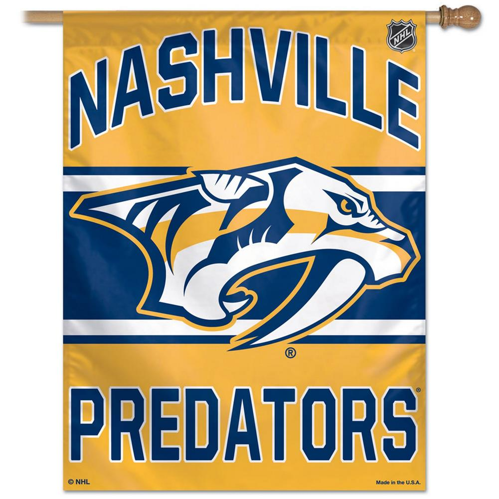Nashville Predators Vertical Outdoor House Flag