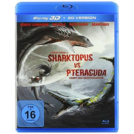 Sharktopus vs. Pteracuda (2014) (3D & 2D) [ NON-USA FORMAT, Blu-Ray, Reg.B Import - Germany ] - Syfy Sharktopus