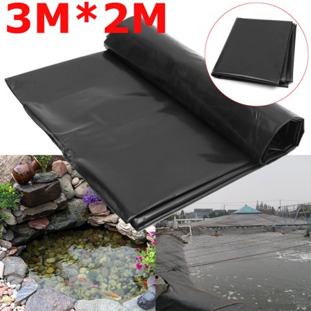 Meigar Fish Pond Liner Garden Pools HDPE Membrane Reinforced Guaranty  Landscaping, 118'' x 79''