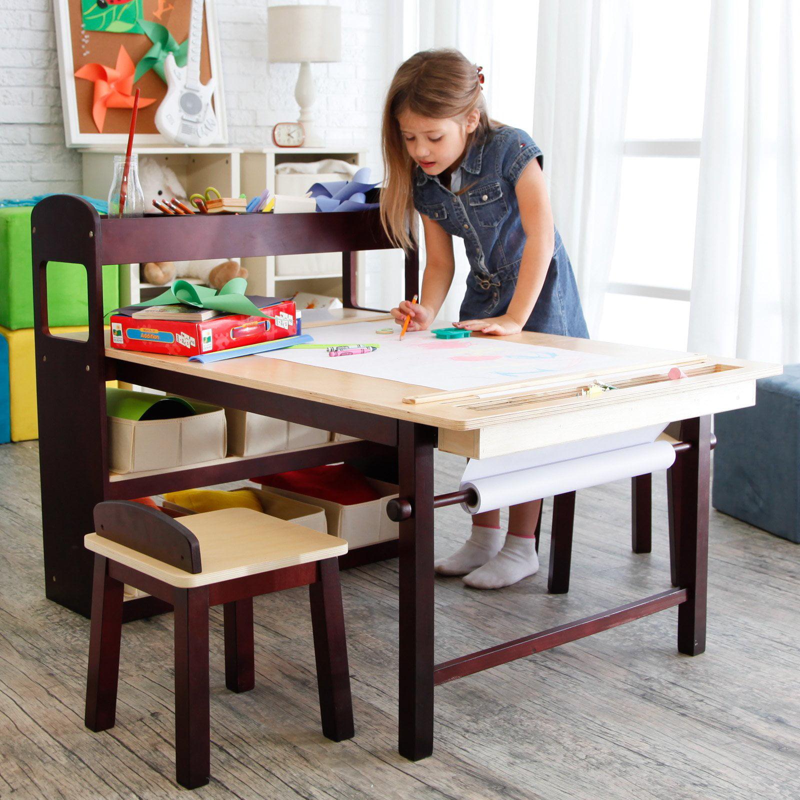 Guidecraft Kids Deluxe Art Center - Walmart.com