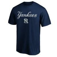 Men's Majestic Navy New York Yankees Bigger Series Sweep T-Shirt