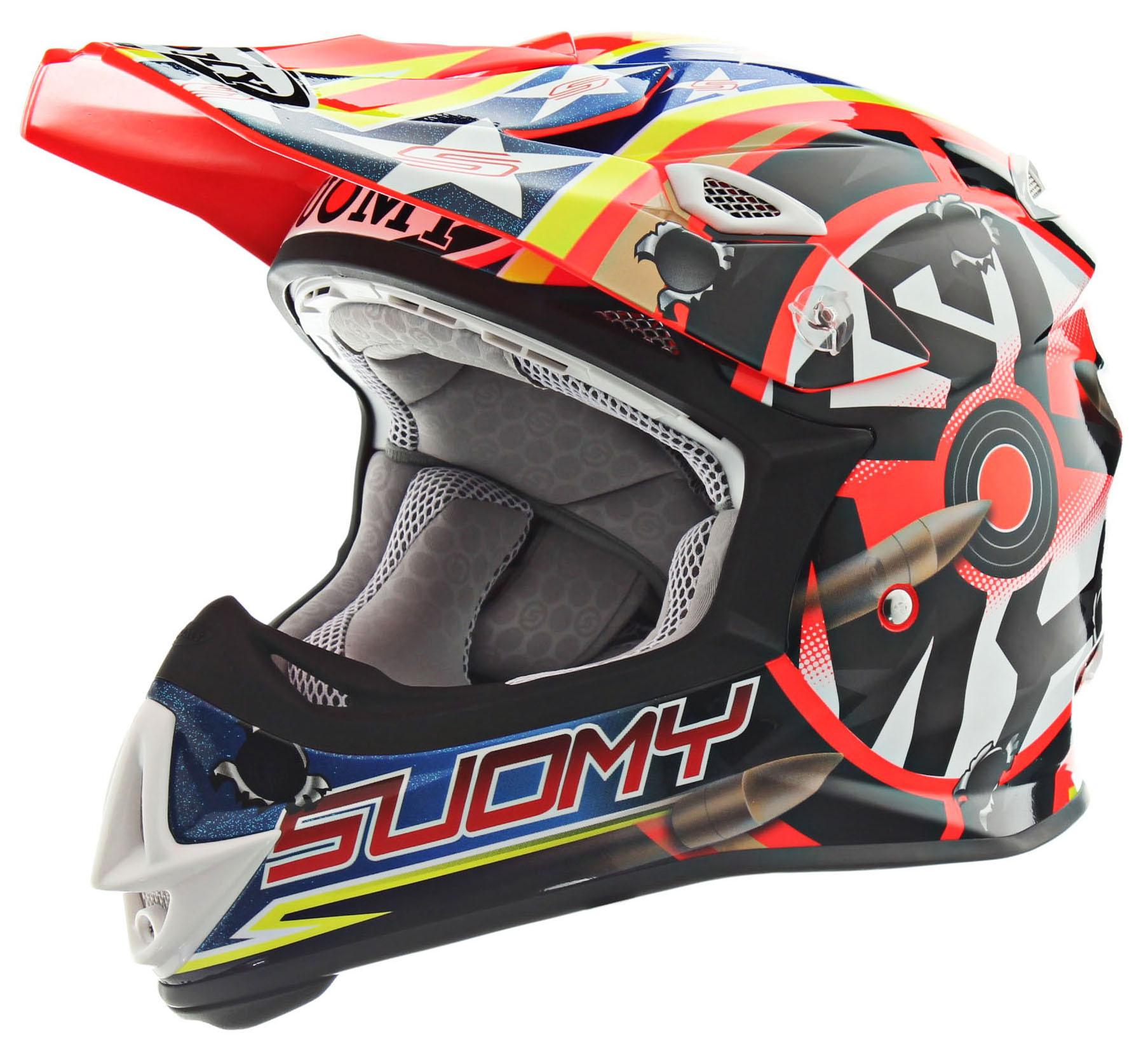 Suomy MX Jump Shots Orange Helmet