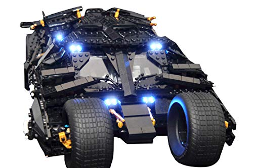 USB LED Light Kit ONLY For LEGO 76023 For Batman Chariot Building Blocks   q