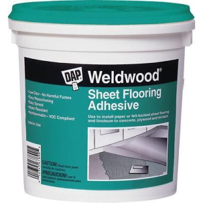 DAP Weldwood 1 Qt Sheet Flooring Adhesive Package of