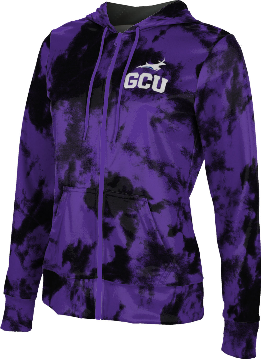 ProSphere Grand Canyon University Boys Full Zip Hoodie Structure