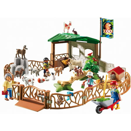 Playmobil Childrens Petting Zoo