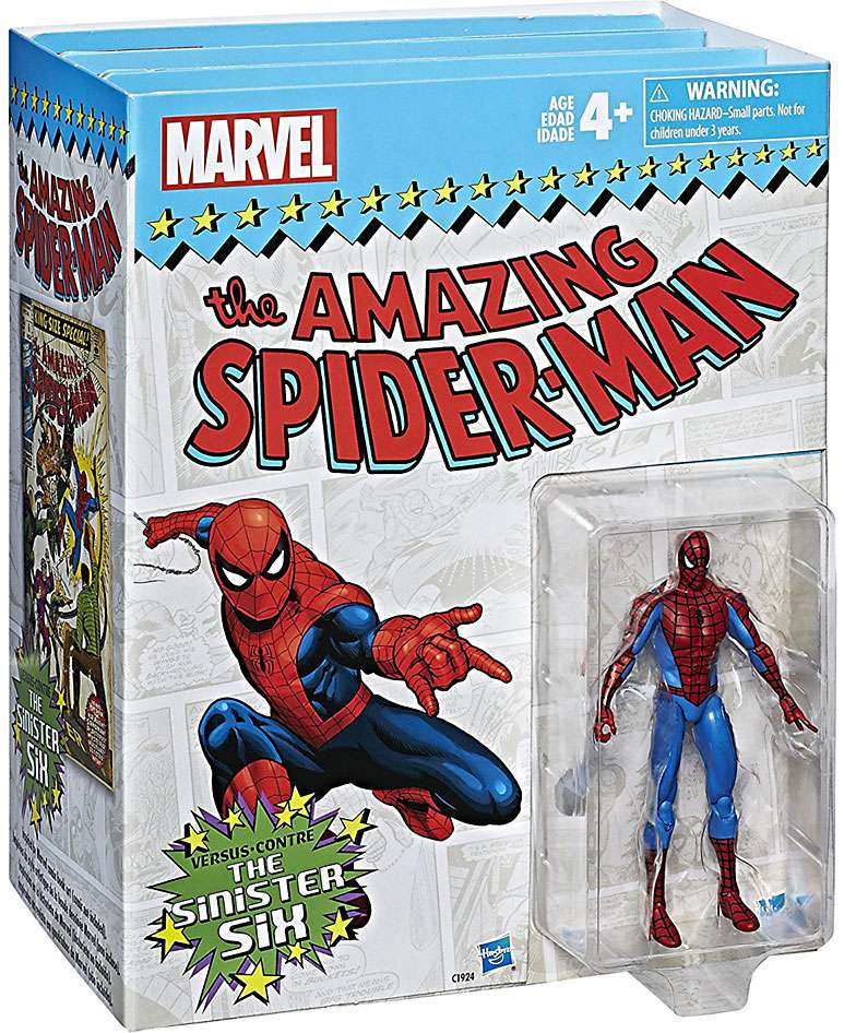 Marvel Legends Spider-Man vs. The Sinister Six Action Figure 7-Pack by