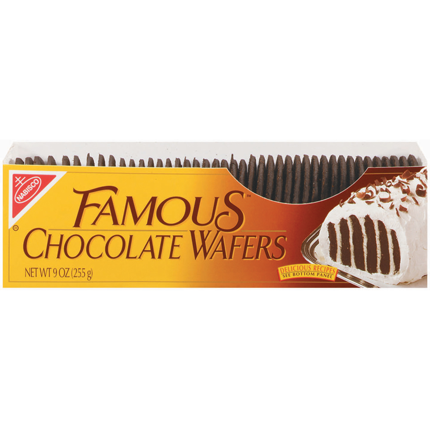 Nabisco Famous Chocolate Wafers, 9 oz