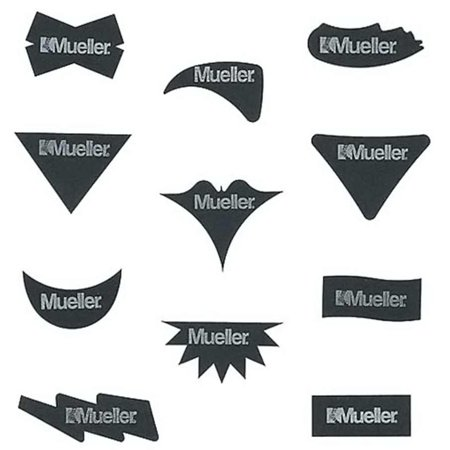No Glare Strips - Mueller No Glare Glare Reducing Strips Assorted Shapes
