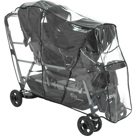Joovy Big Caboose Stand On Tandem Triple Stroller Rain Cover Minidv Rain Cover