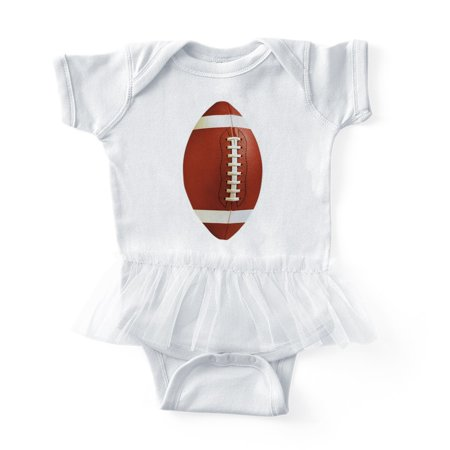 d6e1cb966db CafePress - Football - Cute Infant Baby Tutu Bodysuit - Walmart.com