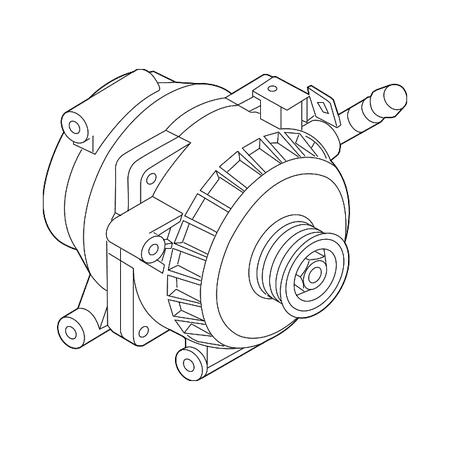 Hyundai Alternator, Alternator for Hyundai