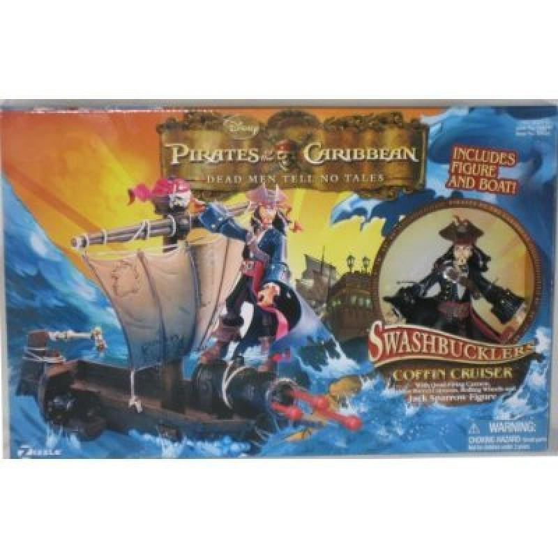 PIRATES OF THE CARIBBEN DEAD MEN TELL NO TALES SWASHBUCKL...