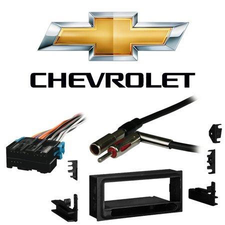Fits Chevy Lumina 1995-2001 Single DIN Stereo Harness Radio Install Dash Kit
