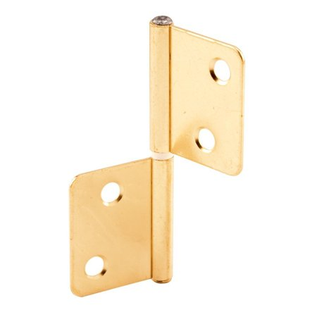 Slide-Co 162171 Bi-Fold Door Hinge, Brass Plated