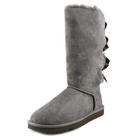 26617b33340 Ugg Australia Bailey Bow Tall Women US 6 Gray Boot UK 4.5 EU 37