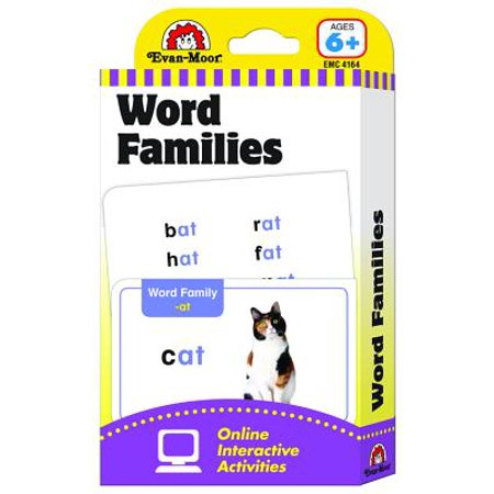 Flashcards : Word Families (Word Families Cards)