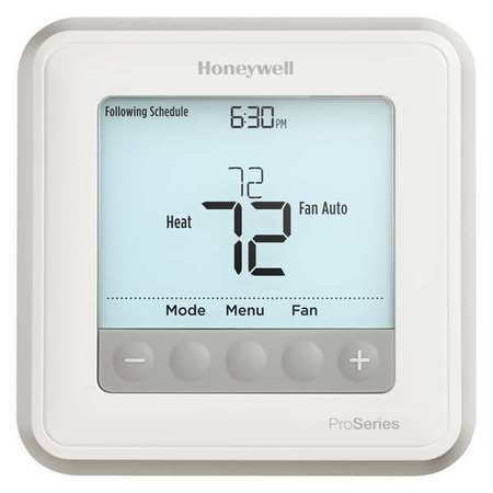 Honeywell th6210u2001 u low voltage thermostat stages heat for Th 450 termostato