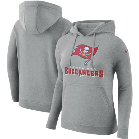 c20a2c6c Tampa Bay Buccaneers Nike Women's Club Tri-Blend Pullover Hoodie -  Heathered Gray