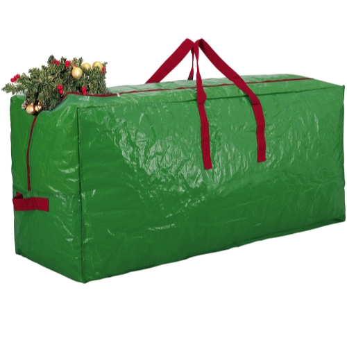 Green Christmas Tree Holiday Extra Large Storage Bag 65x15x30 ZC 103