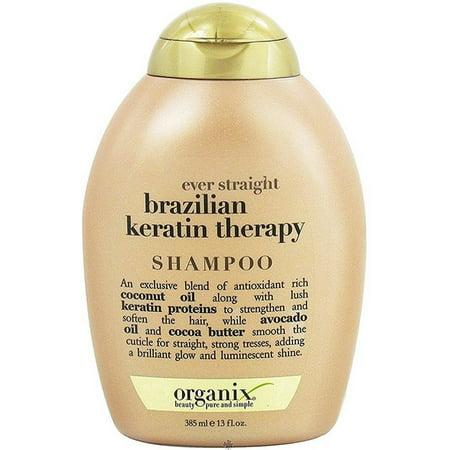 OGX Ever Straight Shampoo Brazilian Keratin Therapy 13