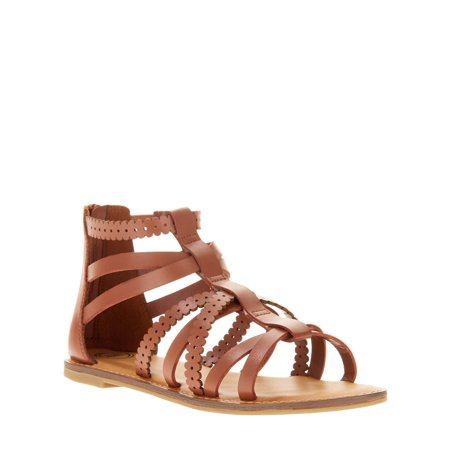 Wonder Nation Girls' Gladiator - Birkenstock Sandals For Girls
