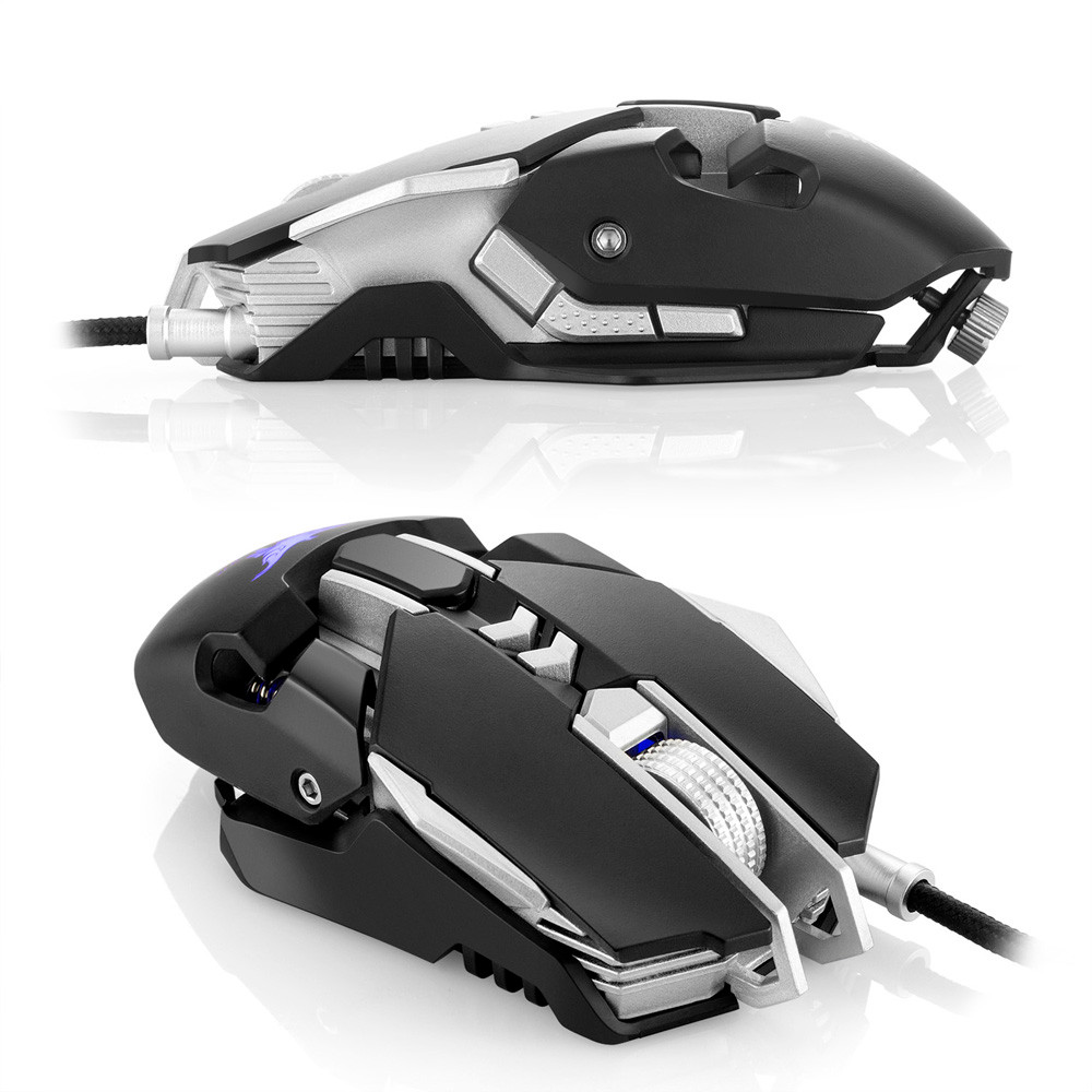 DZT1968 Combaterwing CW30 Adjustable 3200DPI Wired Gaming Mouse Mice ...