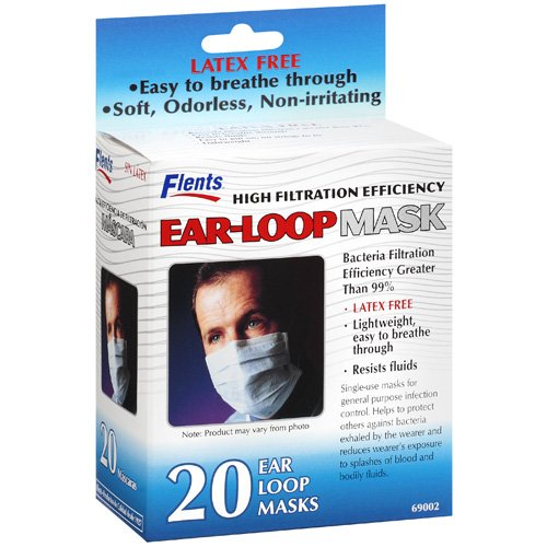 Flents: Earl-Loop Mask, 20 Ct