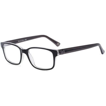 Randy Jackson Mens Prescription Glasses, 3009 Black Smoke