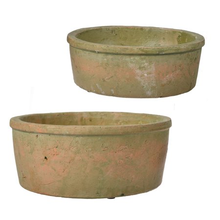 Image of A Home Hamish Round Pot Planters, Set of 2
