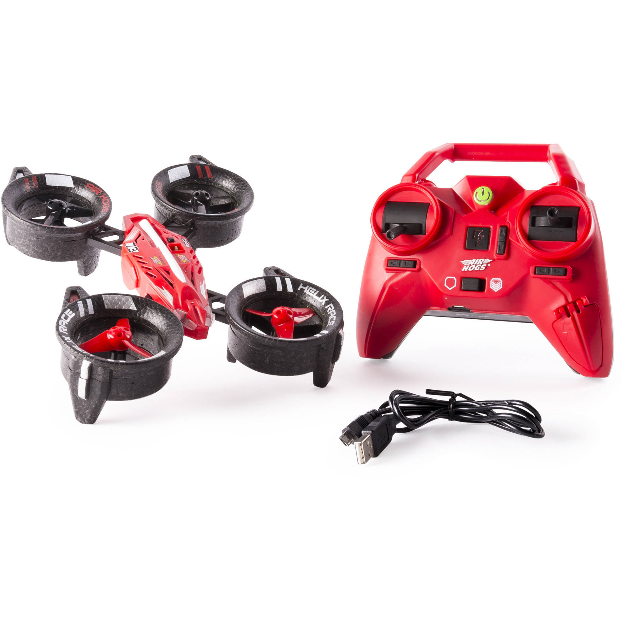 Air Hogs, Helix Race Drone, 2.4 GHZ, Red RC Vehicle