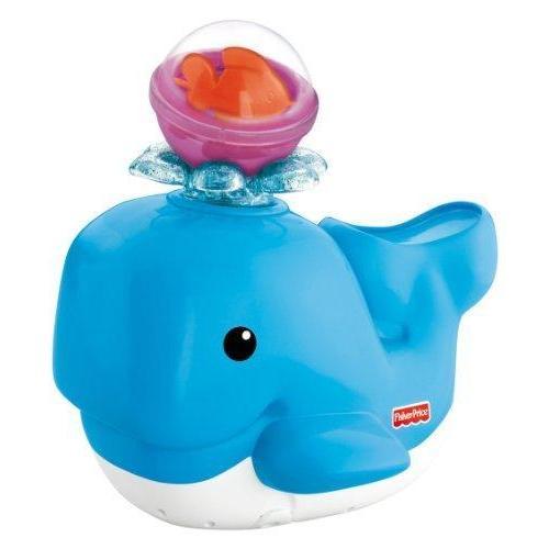 Fisher-Price Brilliant Basics Spray 'n Lights Bath Whale