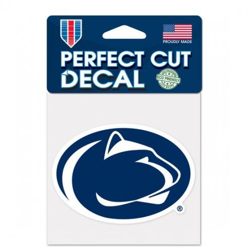 Penn State Nittany Lions 4x4 Perfect-Cut Car Auto Decal Sticker