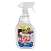 Earth Friendly Products Fruit & Veggie Wash, 22-Ounce