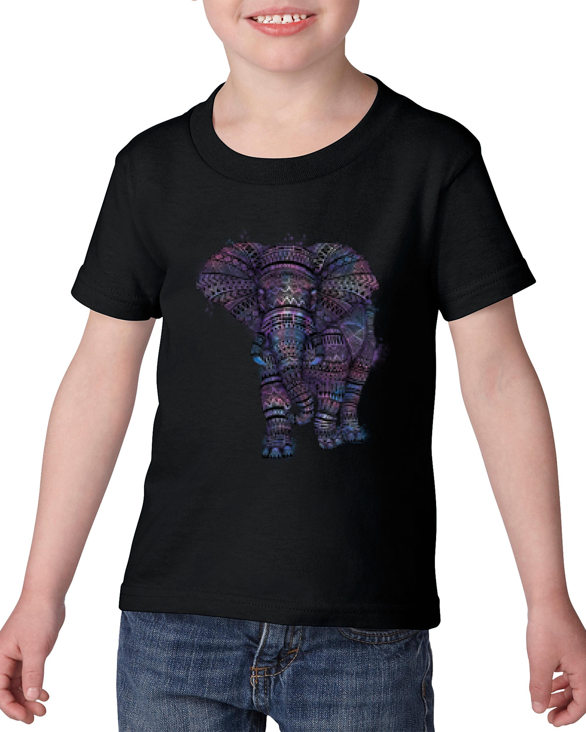 Artix Amazing Elephant Matching Couples Gift for Birthday Christmas Party Heavy Cotton Toddler Kids T-Shirt Tee Clothing